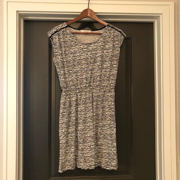 LOFT Dresses & Skirts - Loft Ann Taylor Dress Size S Zebra Print Womens